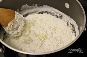 "Торт ""Поленница"" из заварного теста - фото шаг 1"