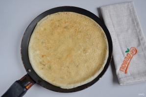 Сырные блины с укропом - фото шаг 7