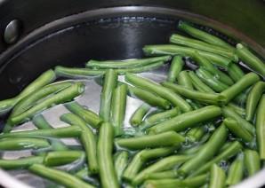Зеленое лобио - фото шаг 2