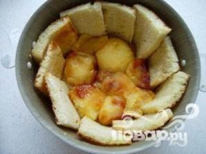 Яблочная шарлотка с хлебом - фото шаг 6