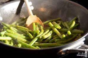 Суп с зеленой фасолью - фото шаг 3
