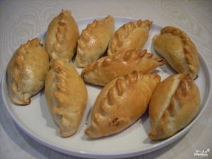 Пирожки с груздями - фото шаг 13