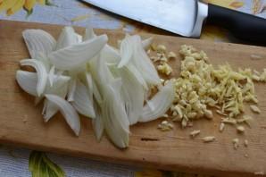 Стир-фрай из вешенок с морковью и овощами - фото шаг 2