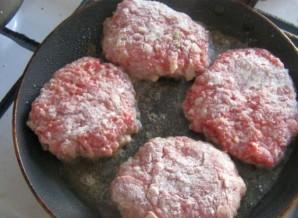 Бифштекс рубленый из говядины   - фото шаг 5
