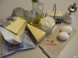 Блинный торт с сыром - фото шаг 1