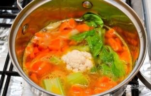 Зимний суп из моркови - фото шаг 4