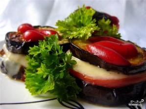 Баклажаны с помидорами и сыром - фото шаг 9