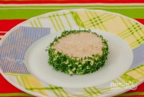 Бутерброды с семгой и красной икрой - фото шаг 4