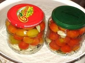 Маринованные помидоры черри - фото шаг 6