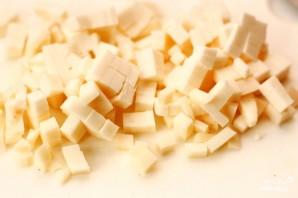 Домашний хлеб с орехами, базиликом и козьим сыром - фото шаг 4
