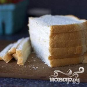 Хлебные кексики с клубникой - фото шаг 1