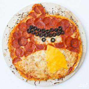 """Пицца """"Angry Birds"""" - фото шаг 8"""