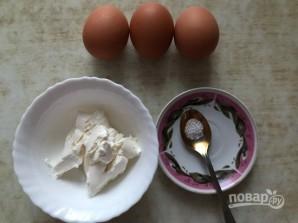 Воздушные яичные лепешки - фото шаг 1