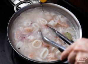 """Салат из морепродуктов """"Морской коктейль"""" - фото шаг 3"""