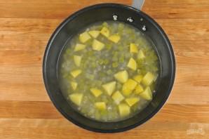 Суп с треской - фото шаг 4