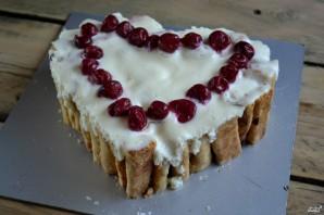 """Торт """"Сердце"""" - фото шаг 14"""