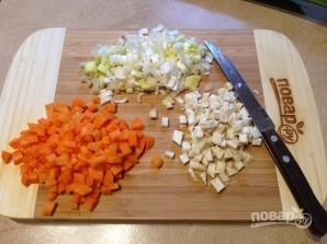 Чечевичный суп с беконом - фото шаг 3