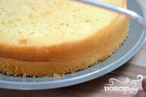 Клубничный торт со сливками - фото шаг 3