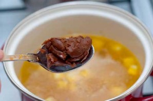 Суп с водорослями нори - фото шаг 3