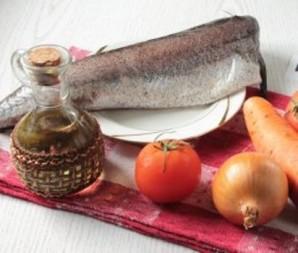 "Тушеная рыба в мультиварке ""Редмонд"" - фото шаг 1"