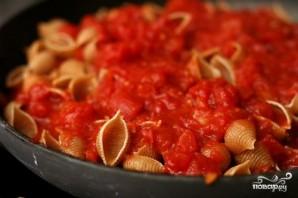 Сливочная паста с помидорами и фасолью - фото шаг 2