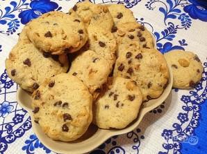 Песочное печенье с фундуком и шоколадом - фото шаг 9