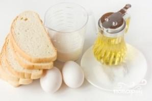 Гренки на сковороде - фото шаг 1