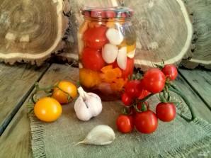 Помидоры с морковкой и луком - фото шаг 5
