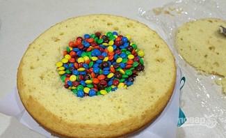 Детский торт на День рождения - фото шаг 3