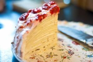 Сметанный крем для блинного торта - фото шаг 4