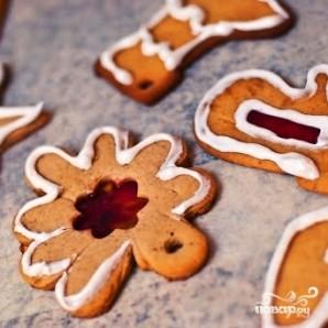 Новогоднее имбирное печенье - фото шаг 10