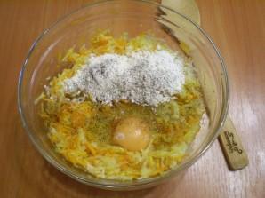 Оладьи из тыквы и кабачков - фото шаг 3