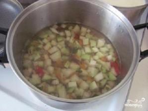 Суп из кольраби с гренками - фото шаг 2
