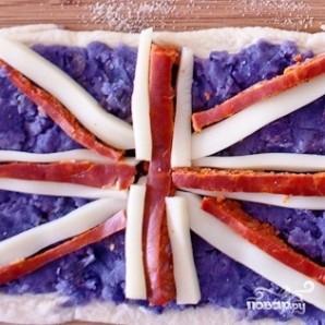 Пицца в виде флагов - фото шаг 7
