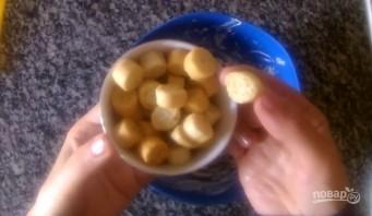 Салат с фасолью и сухариками за 5 минут - фото шаг 4