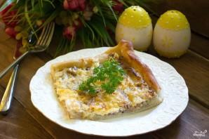 Пирог с тунцом и луком-порей - фото шаг 6
