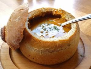 Чечевичный суп в хлебе - фото шаг 6