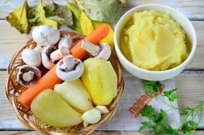 Шефердский пирог (вегетарианский) - фото шаг 1