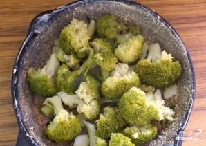 Запеканка из брокколи диетическая - фото шаг 3