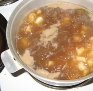 Гороховый суп для ребенка 1 года - фото шаг 1