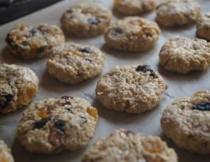 Овсяное печенье на кефире - фото шаг 5