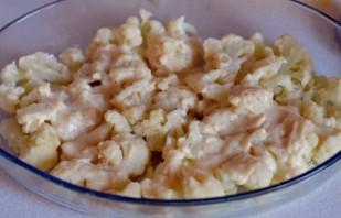 Цветная капуста, запеченная в духовке с сыром - фото шаг 5