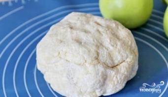 Творожное печенье с яблоками - фото шаг 2