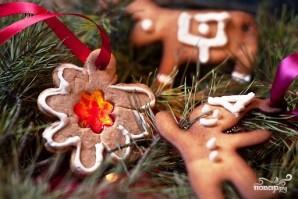 Новогоднее имбирное печенье - фото шаг 11