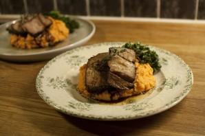 Антрекот из свинины на сковороде - фото шаг 5