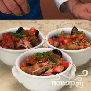 Суп из морепродуктов - фото шаг 6