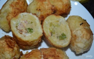 Картофель с начинкой - фото шаг 15