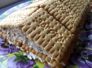 """Торт """"Минутка"""" из печенья - фото шаг 10"""