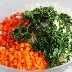 Легкий салат на ужин - фото шаг 3