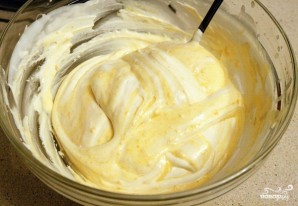 Бисквит с творожным кремом - фото шаг 9